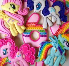 My Little Pony Cookies by cOOkieeDough on Etsy