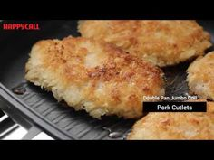 Happycall Titanium Double Pan Cooking - YouTube