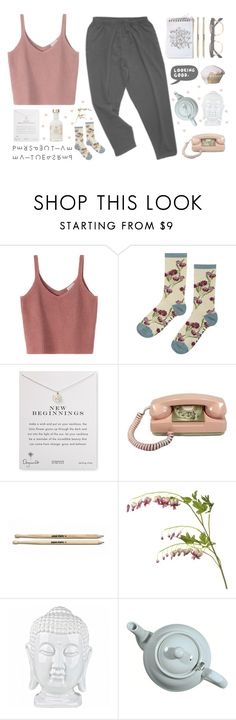 """""""New Beginnings"""" by franchesca-29 ❤ liked on Polyvore featuring Seasalt, Dogeared, OKA and ESPRIT"""