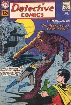 """Will Clayface terminate the Dynamic Duo? A strange substance transforms Matt Hagen into a monster, but one that can morph his beastly form into anything he can imagine. Ron Perlman (TV's """"Beauty and the Beast"""") voices Hagan in animation's """"Batman."""""""