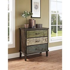 Altra Sage 3-drawer Storage Table