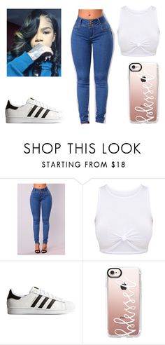 """""""Untitled #143"""" by bvbydest on Polyvore featuring adidas Originals and Casetify"""