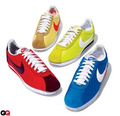 The Nike Cortez - I'm obsessed with these shoes right now, I need a pair of the blue ones.  $60