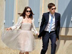 Casamento de Keira Knightley e James Righton no Sul de França. #casamento #vestidodenoiva #tutu