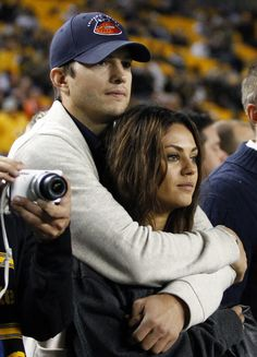 OK, so by now you know Ashton Kutcher and Mila Kunis are pretty much the cutest celeb couple EVER, right?