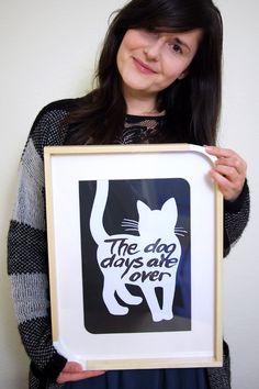 """""""The dog days are over"""" - Freebie zum Ausdrucken - """"Fee ist mein Name"""" // """"The dog days are over"""" - Free printable"""
