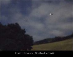 Scotland - UFO - 1947, good article on the website