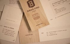 Student Work: Fred Carriedo: Bass Pro Shop Identity