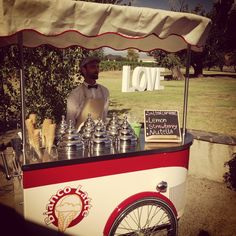 Bianco Latte, Melbourne  #tekneitalia #icecreamcart #gelatocart #gelato #foodservice #wedding