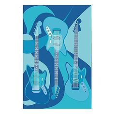 Fun Rugs childrens rugs - Supreme The Blues Kids Rug - x - 3958 - Plain and Simple Deals - no frills, just deals Kids Area Rugs, Blue Area Rugs, Childrens Rugs, Synthetic Rugs, Rectangular Rugs, Throw Rugs, Cool Rugs, Hand Carved, Blues