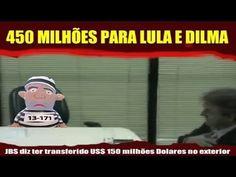 Dono da JBS diz ter transferido R$ 450 milhões para Lula e Dilma