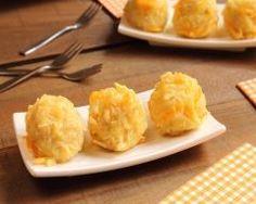 Croquettes de pommes de terre au cheddar faciles