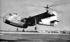 Transcendental Model 1-G (1954) was an experimental American tiltrotor prototype of the 1950s. It was a single-seat aircraft powered by a single piston engine, and was the first tiltrotor to fly.[1] A single example was built, which was destroyed in a crash in 1955.