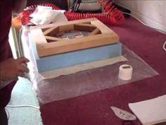 How to Edge a Foam Stool - YouTube