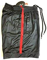 a07a9f222bac5 Nike X Andre Agassi Collection Tennis Shorts Dri-Fit Black Red Original  Vintage OG 1990's New Men's Medium: Amazon.co.uk: Sports & Outdoors