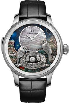 9f48e3a1162 Jaquet Droz Les Ateliers d Art Automata THE BIRD REPEATER Relógios De Luxo