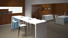 Hi5 contemporary Union tables with Villa power units.