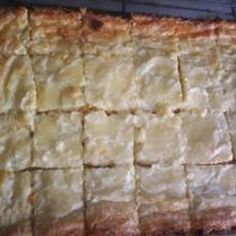 Southern Chess Squares - Also known as Gooey bars in my house ...