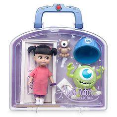Disney Animators' Collection Boo Mini Doll Play Set - Monsters, Inc. Monsters Inc Toys, Disney Monsters, Disney Animator Doll, Disney Dolls, Ariel Disney, Girl Toys Age 5, Toys For Girls, Baby Girls, Sullivan Monster Ag