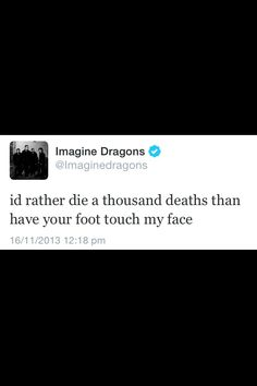 The Imagine Dragons really get me