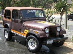 1984 Jeep Renegade CJ7, 4.2 I6, 5sp Manual, 3.31 L/S Diffs