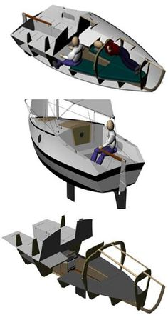 Midwest Engineering & Design How to Plans for product to explore our world by air, on land and underwater! Tiny Boat, Small Sailboats, Honfleur, Build Your Own Boat, Boat Kits, Naval, Boat Stuff, Le Havre, Tug Boats