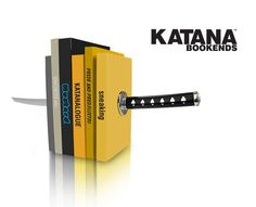 The Katana Bookend Will Keep Your Ninja Documents in Order trendhunter.com