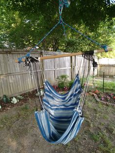 Medium image of hammock swing diy  all in russian but the idea is pretty clear   crafts   pinterest   hammock swing swings and hammock chair