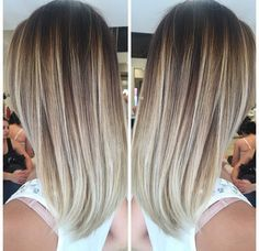 Obsessed with this cool tone balayage