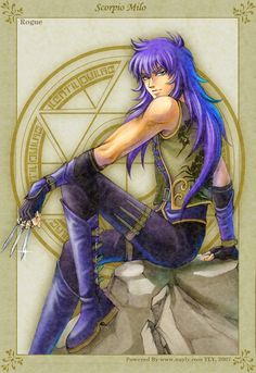 Deathmask is my favorite role in the Saint Seiya. Now in my Golden Fantasy,he is a necromacer~ Golden Fantasy-Deathmask Anime Guys, Manga Anime, Anime Art, Aquarius, Knights Of The Zodiac, Golden Warriors, O Pokemon, Zodiac Symbols, Monsters