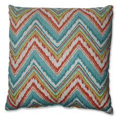 Chevron Cherade 18-inch Throw Pillow
