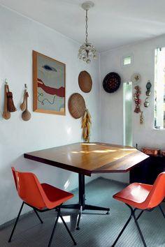 The home of architect Jorge Zalszupin