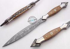 "12.50"" Custom Made Beautiful Damascus Steel Commando Dagger Knife (FSL-087-18) #UltimateWarrior"
