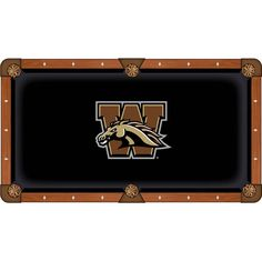 Western Michigan Broncos Pool Table Cloth