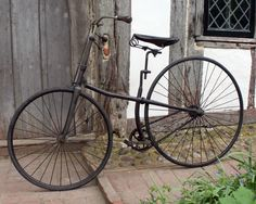 » 1886 Pausey Pioneer Cross-Frame Safety The Online Museum for Premier Cycle Co and Cross Frame Bicycles