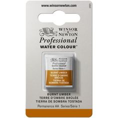 Winsor & Newton Professional Water Colour Paint Pan