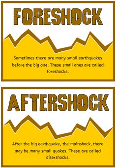 A set of 18 printable fact cards that give fun and interesting facts about earthquakes. Each fact card has a key word heading, making this set an excellent topic word bank! Great for discussions and introducing this topic! Visit our TpT store for more information and for other classroom display resources by clicking on the provided links.