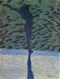 Léon Spilliaert, Bathing Woman
