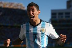 16. Angel Di Maria (Argentina/Real Madrid) Angel Di Maria should have had a better FIFA World Cup.   He went from creating 17 goals in La Liga to none at the World Cup. Not to mention, his shooting was off with just one goal from 24 shots.   The major positive, though, was that he surged past opposing players at will.   Despite a career-best season for Real Madrid, Di Maria is inexplicably on the chopping block.