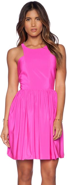 d17e5abcfd9b Shop for Amanda Uprichard Dress in Hot Pink at REVOLVE. Free day shipping  and returns