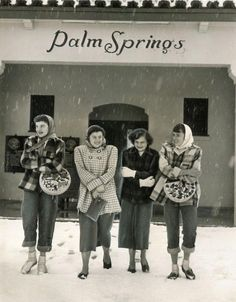 """""""for me, they will always be glorious birds. Palm Springs California, Riverside California, Places In California, California History, Vintage California, Southern California, Palm Springs Mid Century Modern, Retro Fashion, Vintage Fashion"""