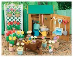 Gardening Shed Set