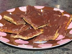 Soda Cracker Candy (poor man's toffee)