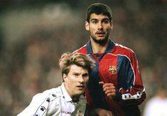 Michael Laudrup and Pep Guardiola
