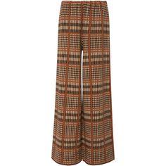 Scottish Plaid Trouser | Moda Operandi ($580) ❤ liked on Polyvore featuring pants
