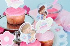Baby McStuffins Cupcake Toppers