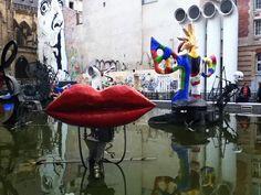 Stravinsky Fountain near the Pompidou Centre | Flickr - Photo Sharing!