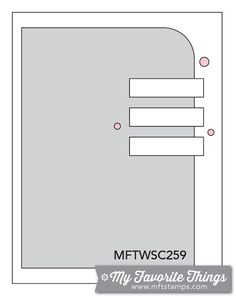 MFT Card Challenges: Wednesday Sketch Challenge - Sketch 259  #mfstamps