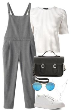 """Sin título #1949"" by camila-echi ❤ liked on Polyvore featuring The Row, WithChic, The Cambridge Satchel Company, Ray-Ban, Kenneth Cole and Charlotte Russe"