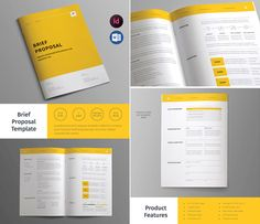 Proposal Layouts Proposal  Proposals Proposal Templates And Template